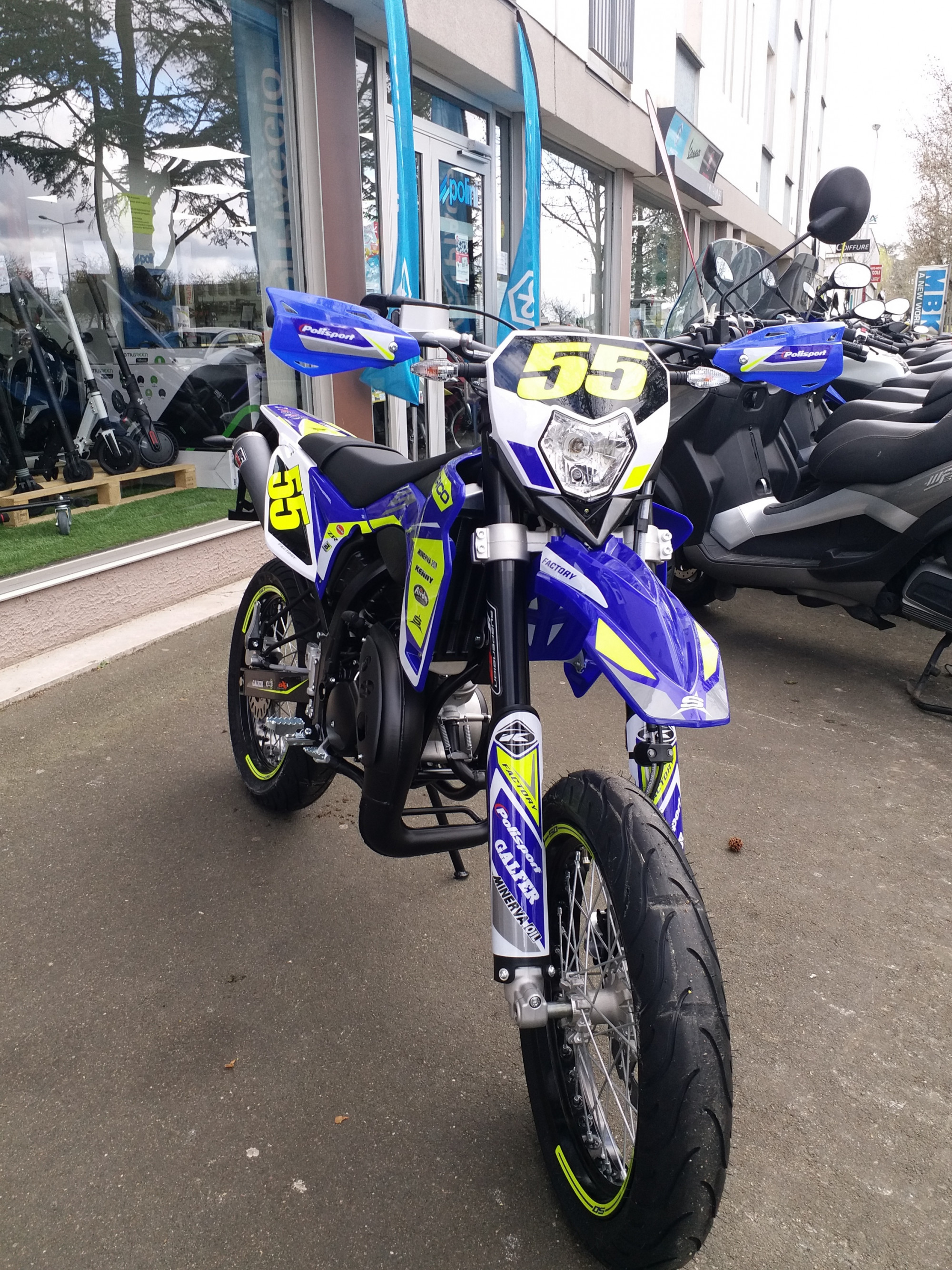 Moto Moto 50cc SHERCO SM Neuve / Possible Financement